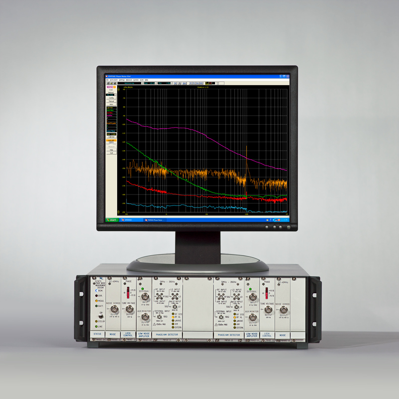 The DCNTS is a two channel Phase and Amplitude noise analyzer